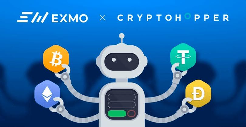 Торговый бот Cryptohopper для аккаунтов на EXMO